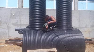 Изготовление и шеф-монтаж нефтеуловителя MakBoxRainK 70-15