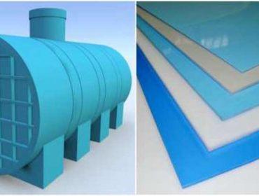 Поліпропілен та його використання при будівництві очисних споруд