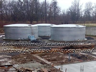 Модульные емкости 123 м куб., 3 шт.,  г. Чоп, Закарпатская область