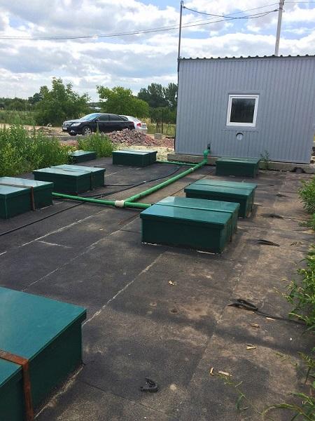 Блочно-модульные локальные очистные сооружения MakBoxGrand производительностью 50-1000 м3 / сутки