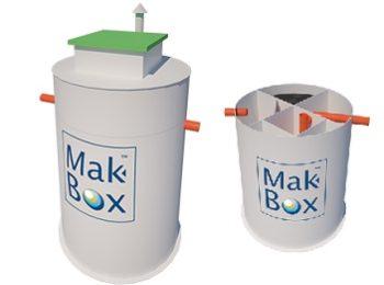 MakBoxBio 1-20 m3/day