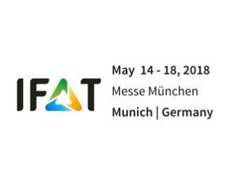 Выставка IFAT 2018, 14-18 мая 2018, г. Мюнхен, Германия
