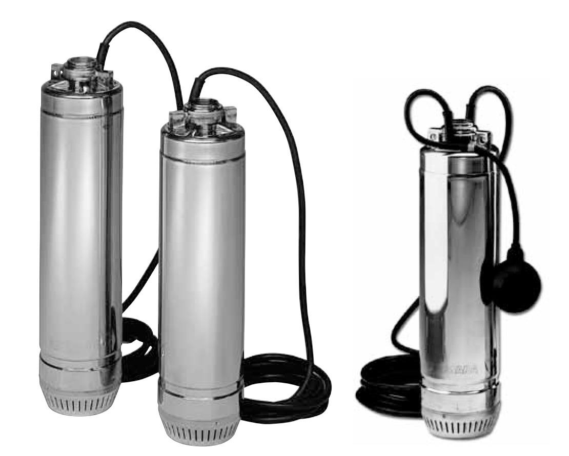 Колодязні насоси, колодязні насоси Lowara серії SCUBA, насос для подачі води з криниць, резервуарів, каналів