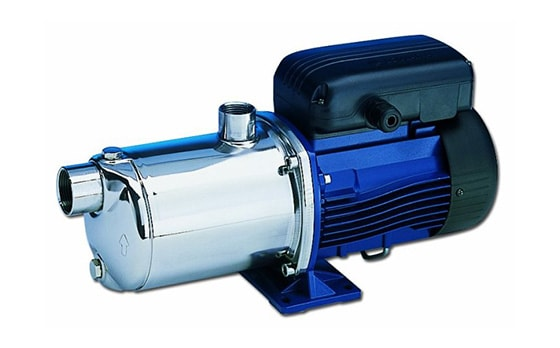 Горизонтальні багатоступеневі відцентрові насоси Lowara серії e-HM, насос для підвищення тиску в системах водопостачання