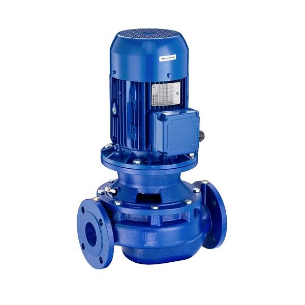 Насоси Lowara серії e-LNE, насос для підвищення тиску в системах водопостачання, циркуляційні насоси