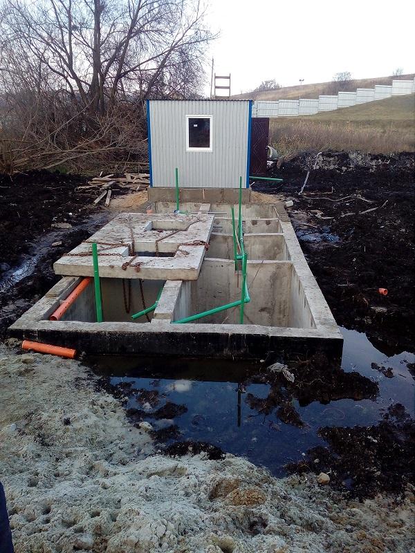 будівництво очисних споруд MakBoxGrand