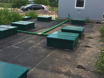 Будівництво очисних споруд MakBoxGrand – 100м3