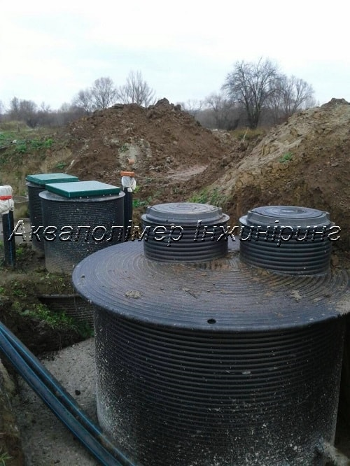 каналізаційна насосна станція кнс акваполімер