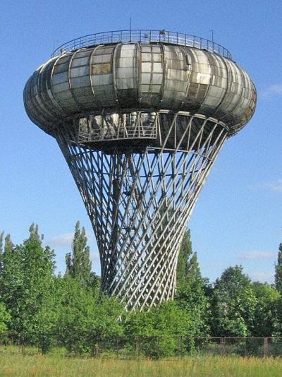 водонапорная башня, водоснабжение, емкость, резервуары, необычная архитектура
