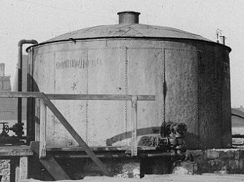 Первые резервуары для хранения жидкостей. Как это было?