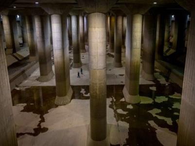 резервуар, емкость, Япония, гигантский, самый большой