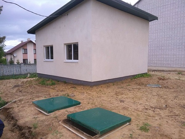Виготовлення та монтаж локальної очисної споруди MakBoxPro, смт Рудне