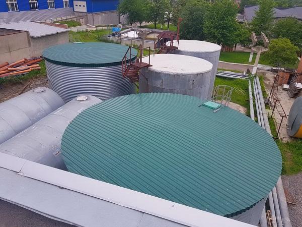 Модульные емкости 220 м куб., г. Сокаль, Львовская область