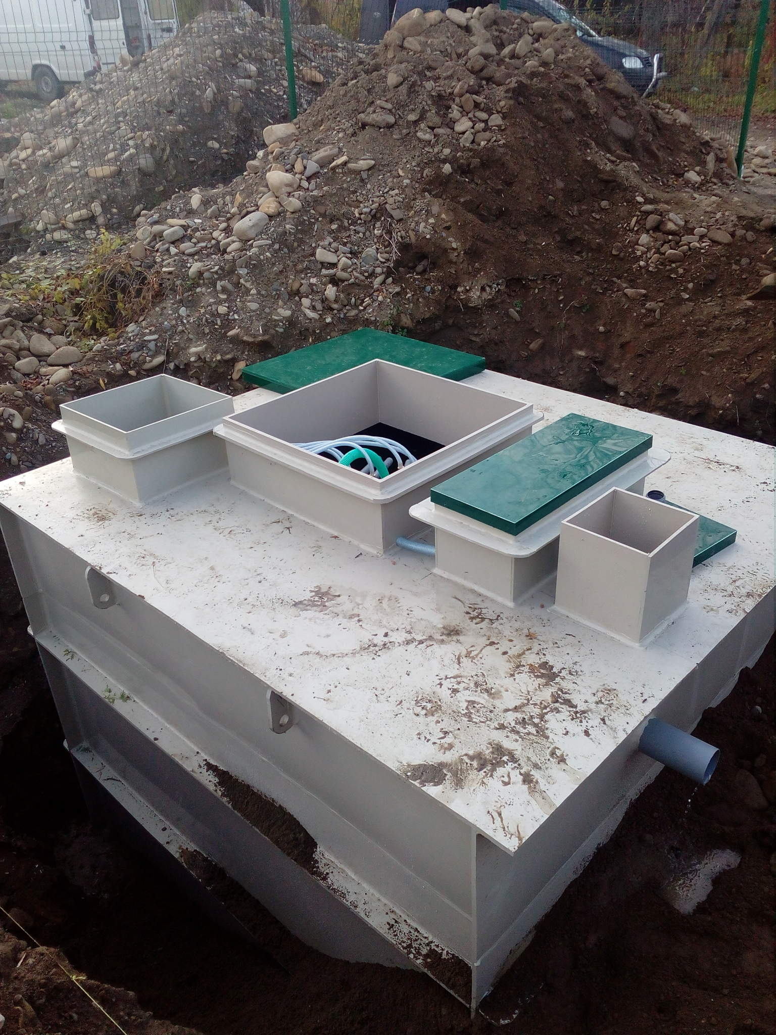 Виготовлення та монтаж очисної станції MakBoxPro