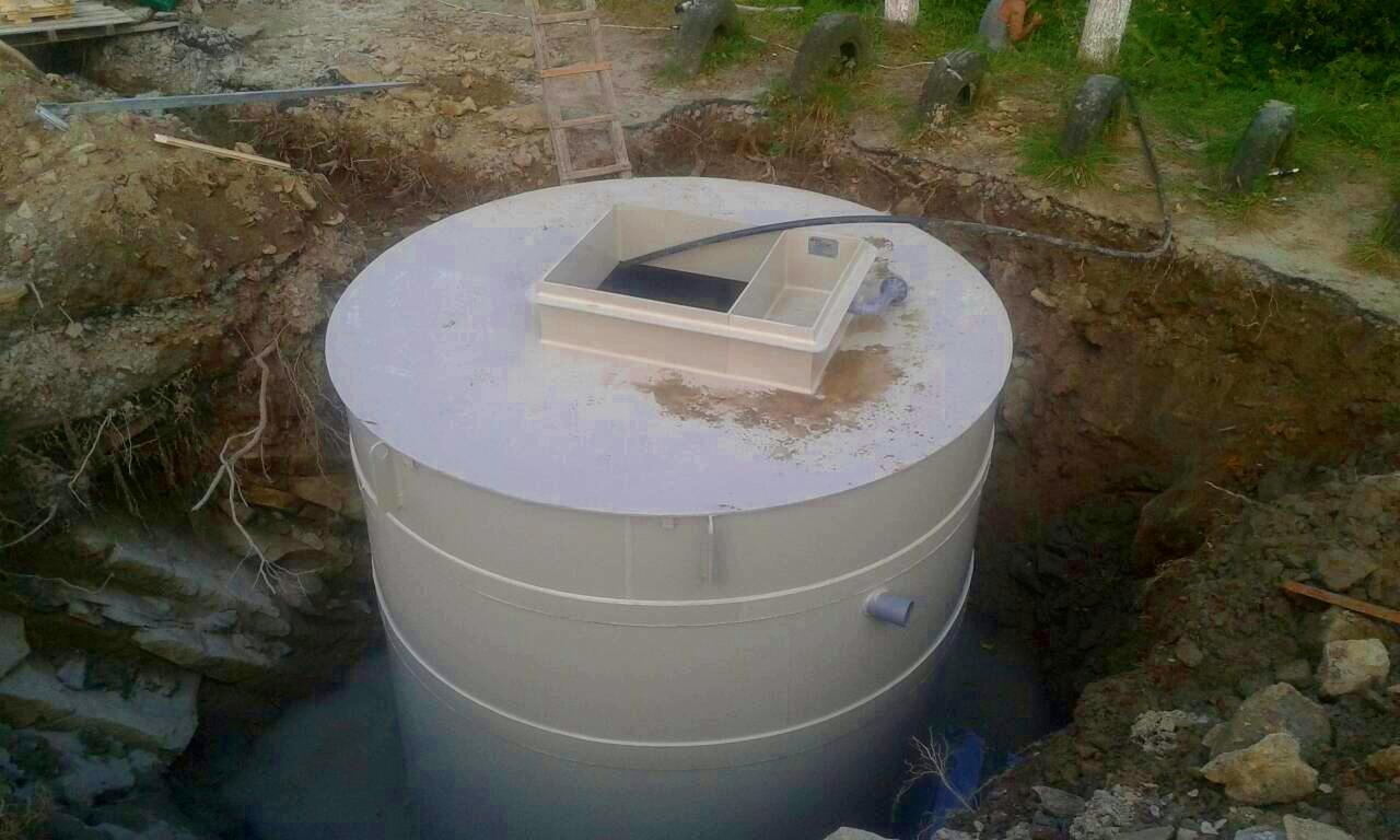 Установка станції біологічної очистки MakBoxBio