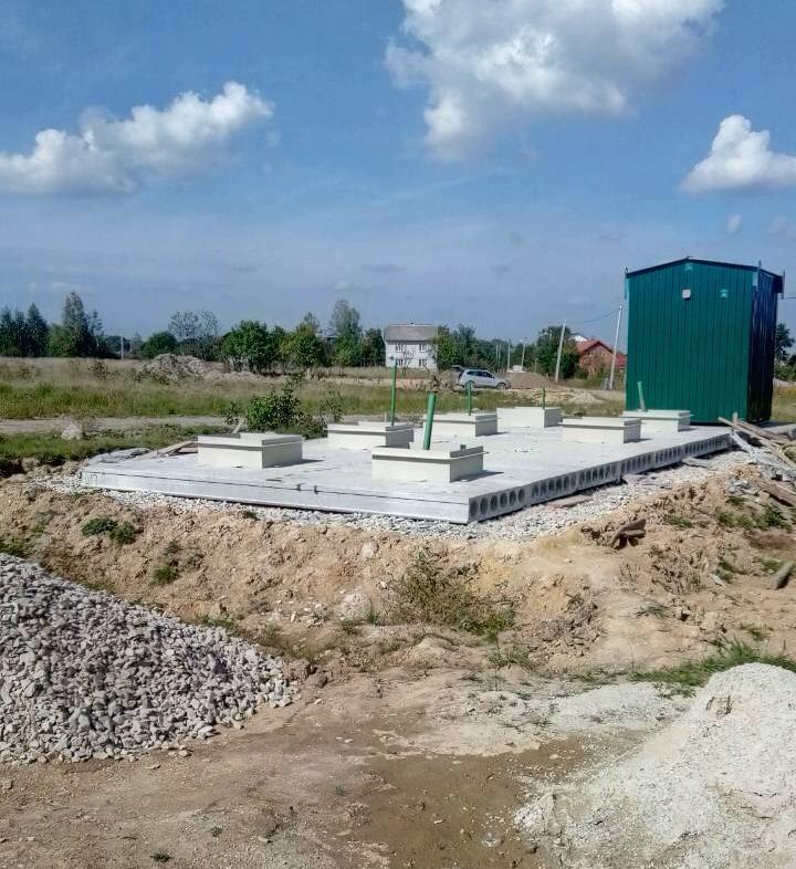 строительство хозяйственно-бытовых очистных сооружений MakBoxGrand
