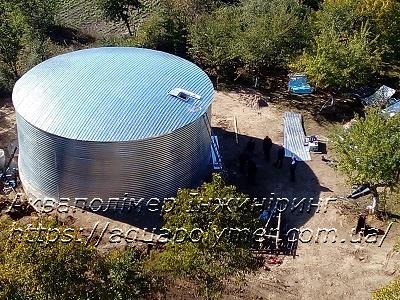 Резервуар для зберігання питної води
