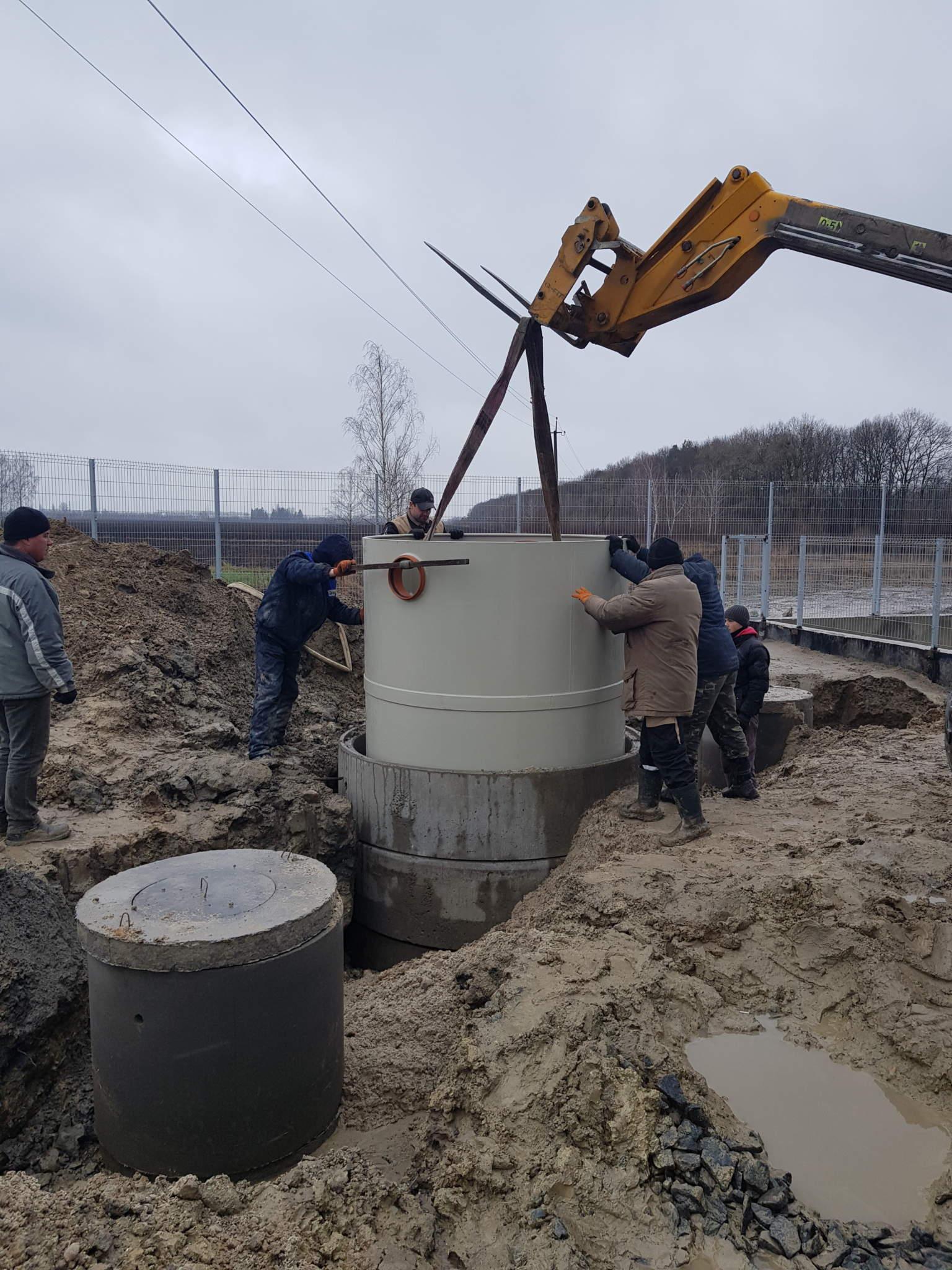 Нефтеловушка на элеваторный комплекс (Житомирская обл)