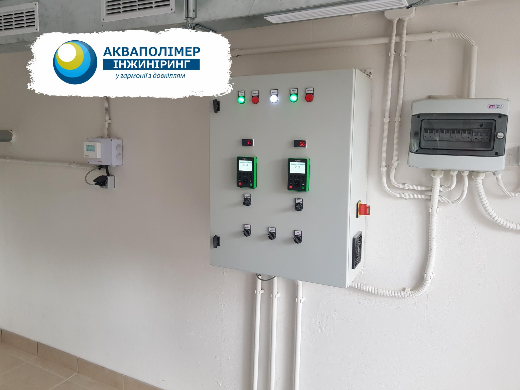 Будівництво вентиляційної системи каналізаційного колектора