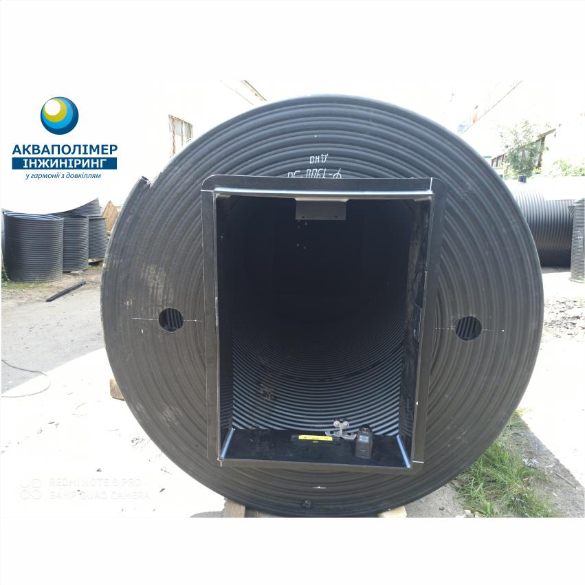 каналізаційна насосна станція, виробництво Акваполімер Інжиніринг