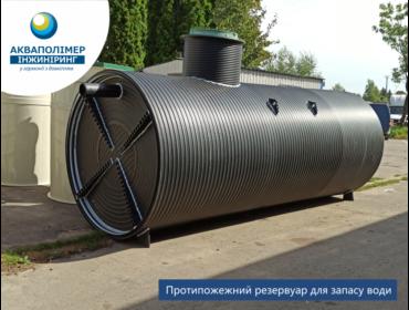 Виготовлення ємності для протипожежного запасу води об'ємом 15 м³