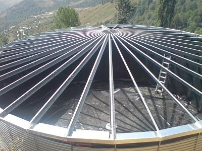 Dach o pojemności modułowej
