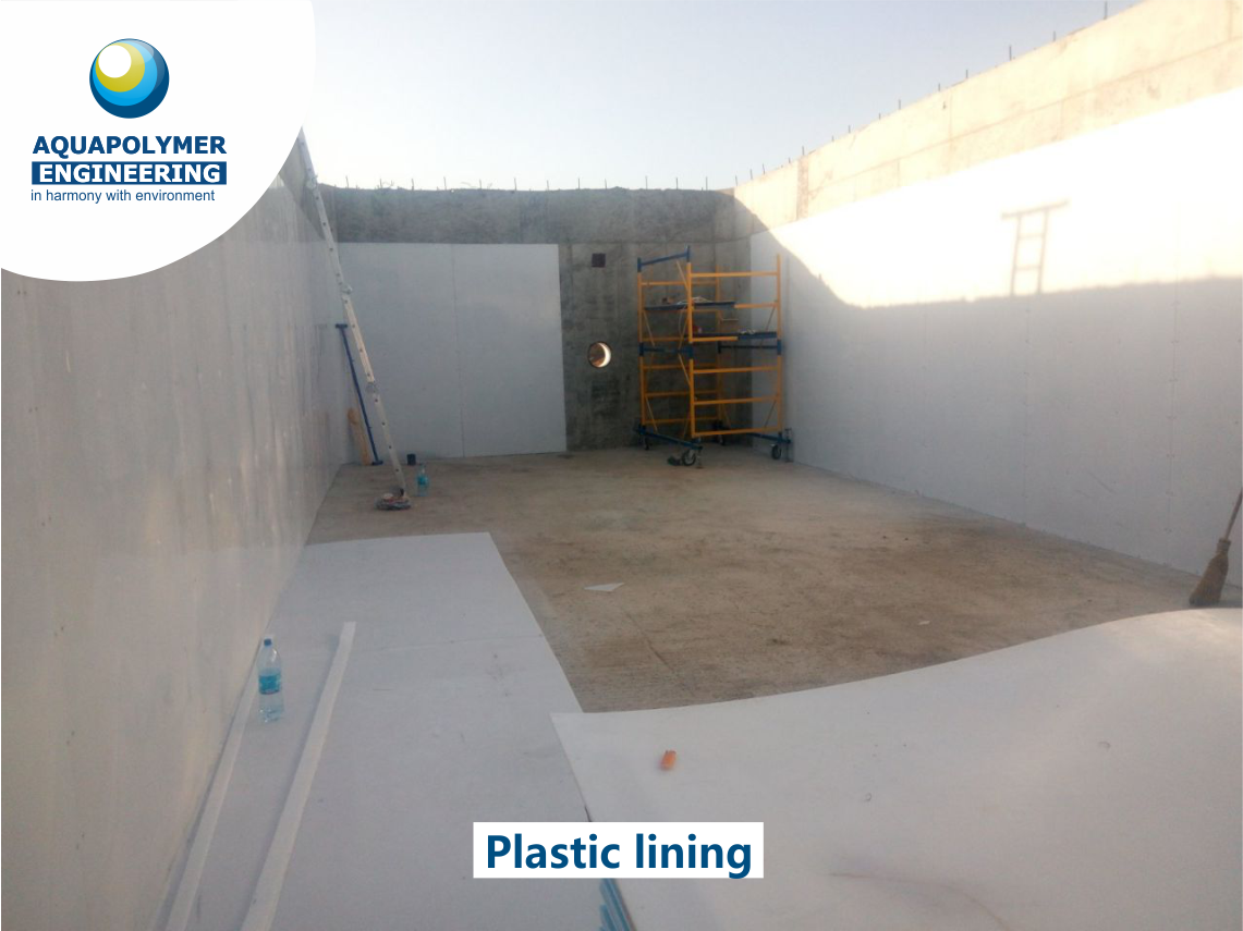 order the service of lining concrete tanks
