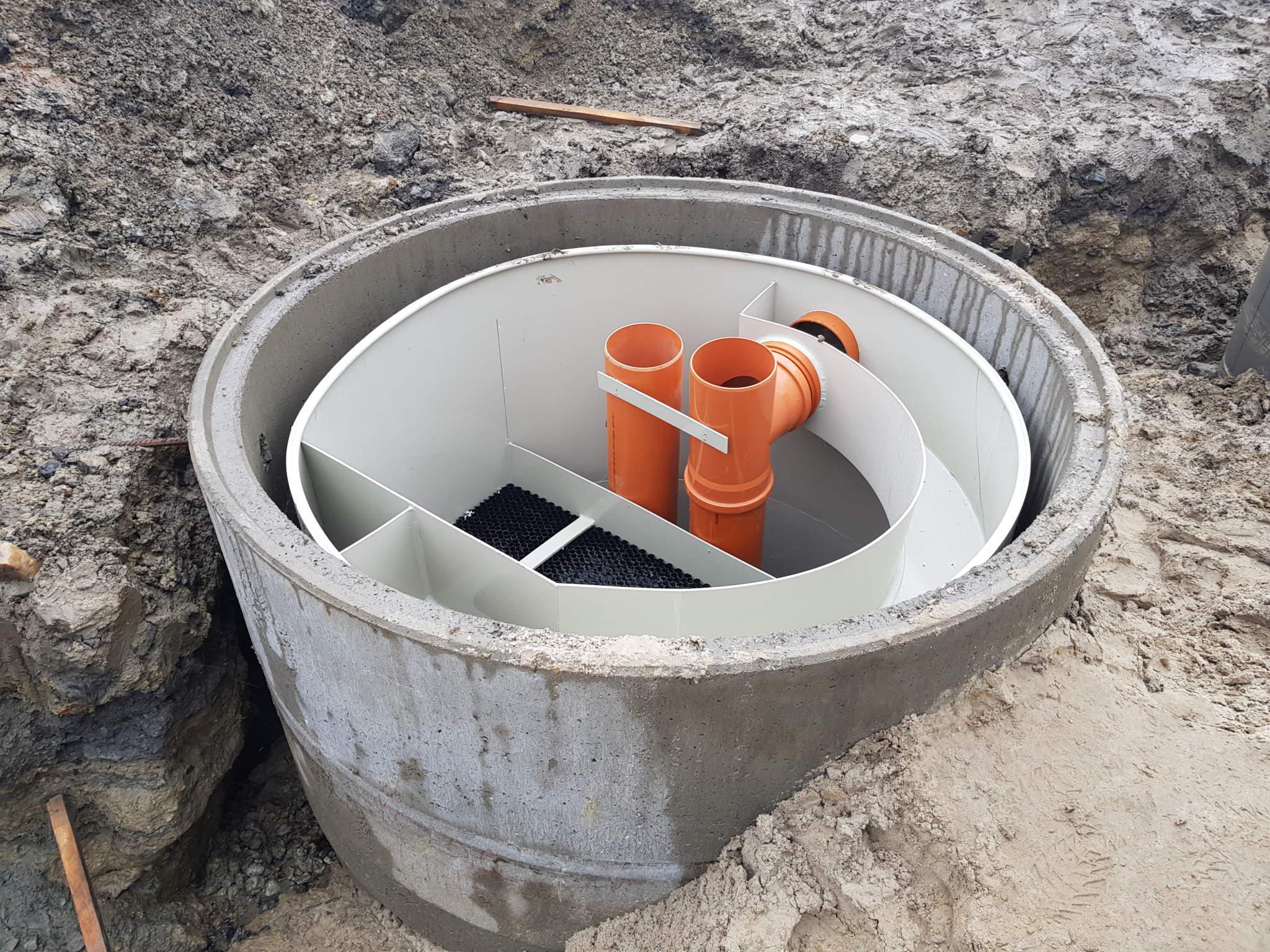 separator produktów naftowych