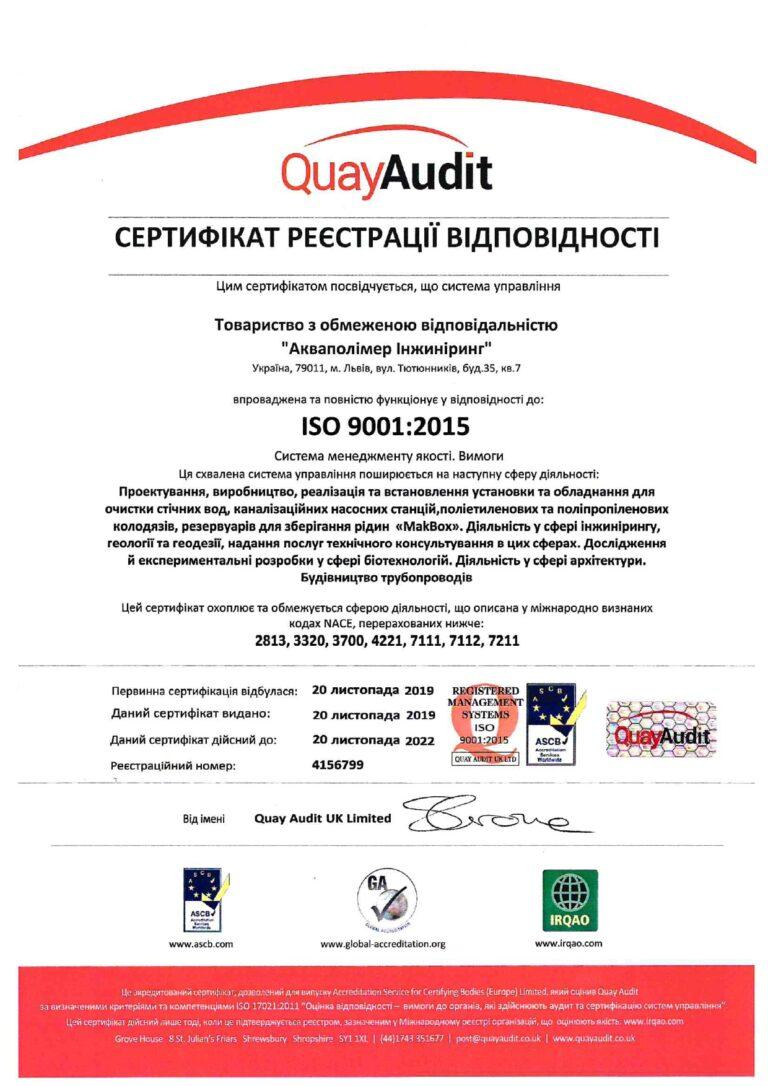 DSTU ISO-9001-2015 - Systemy zarządzania jakością. Wymagania