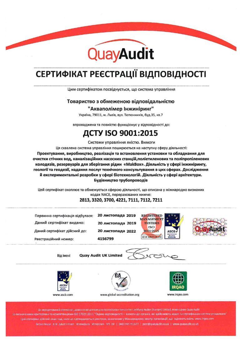 ДСТУ-ISO-9001-2015 Системы управления качеством. -требования
