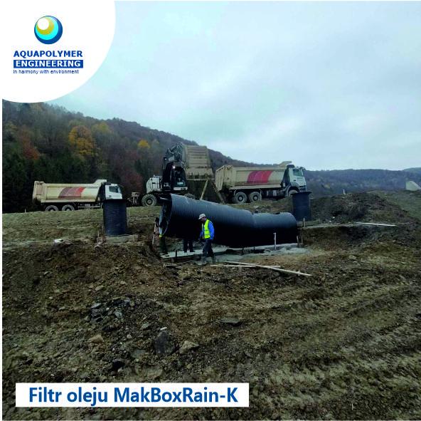 Wykonanie i montaż separatora produktów naftowych MakBoxRain K