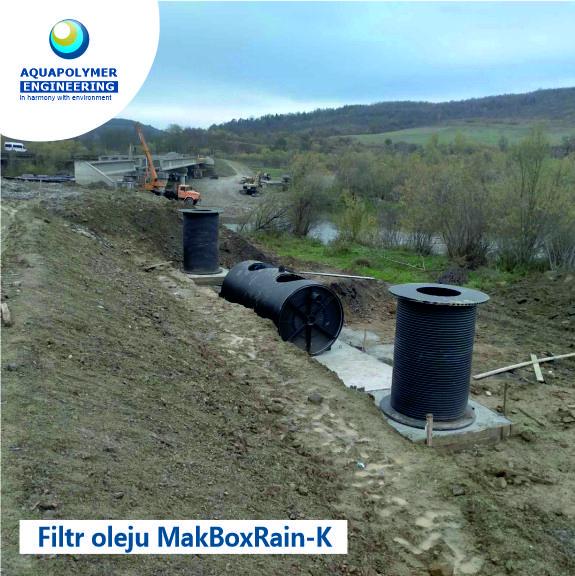 Wykonanie i montaż separatora produktów naftowych MakBoxRain