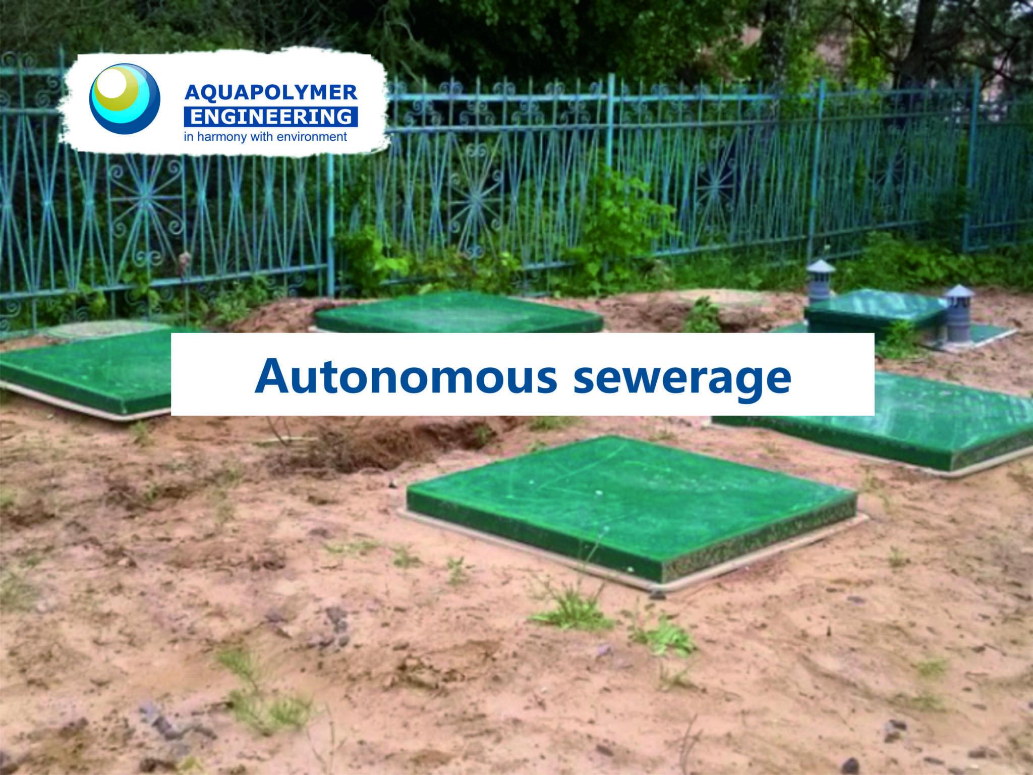 autonomous sewerage