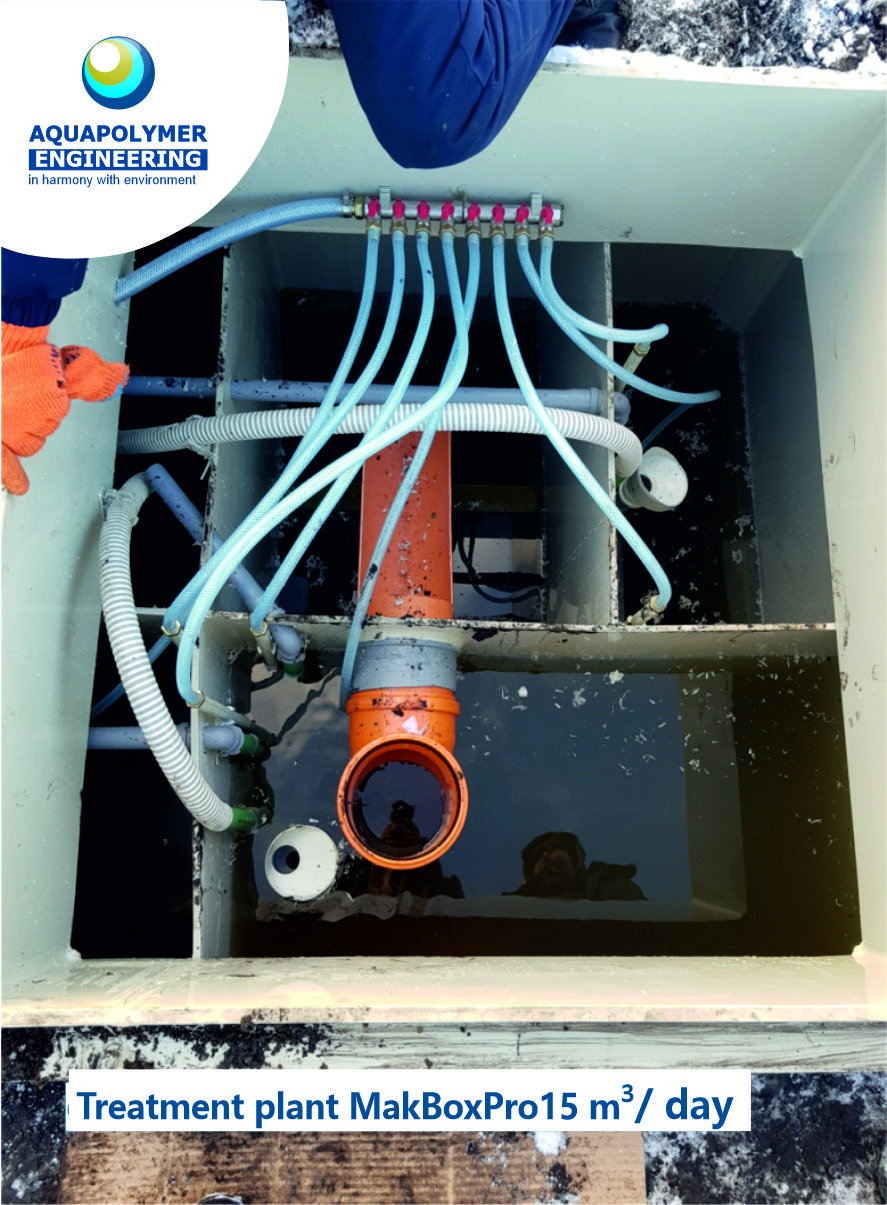 order Treatment plant MakBoxPro15