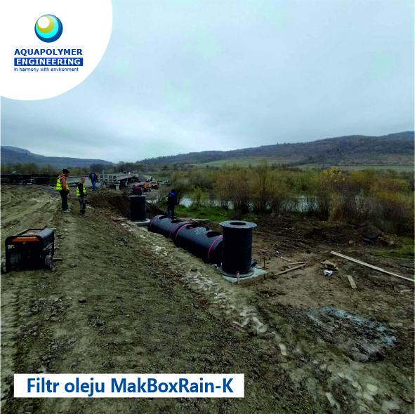 separator produktów naftowych MakBoxRain K-10