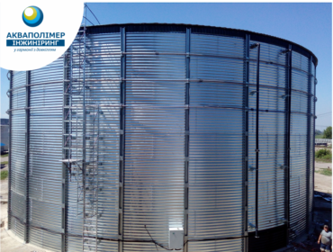 Reservoir for storage of liquid mineral fertilizers (UAN) MakBoxTank with a capacity of 4177 m3, Cherkasy