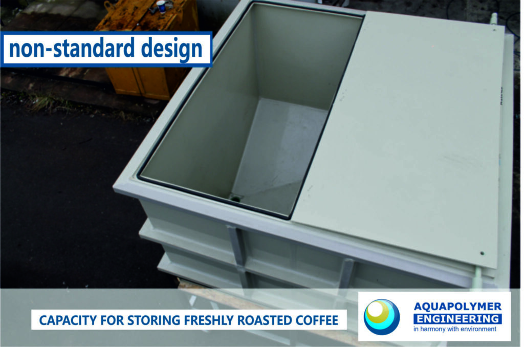 Plastic container, polypropylene container, coffee storage container.