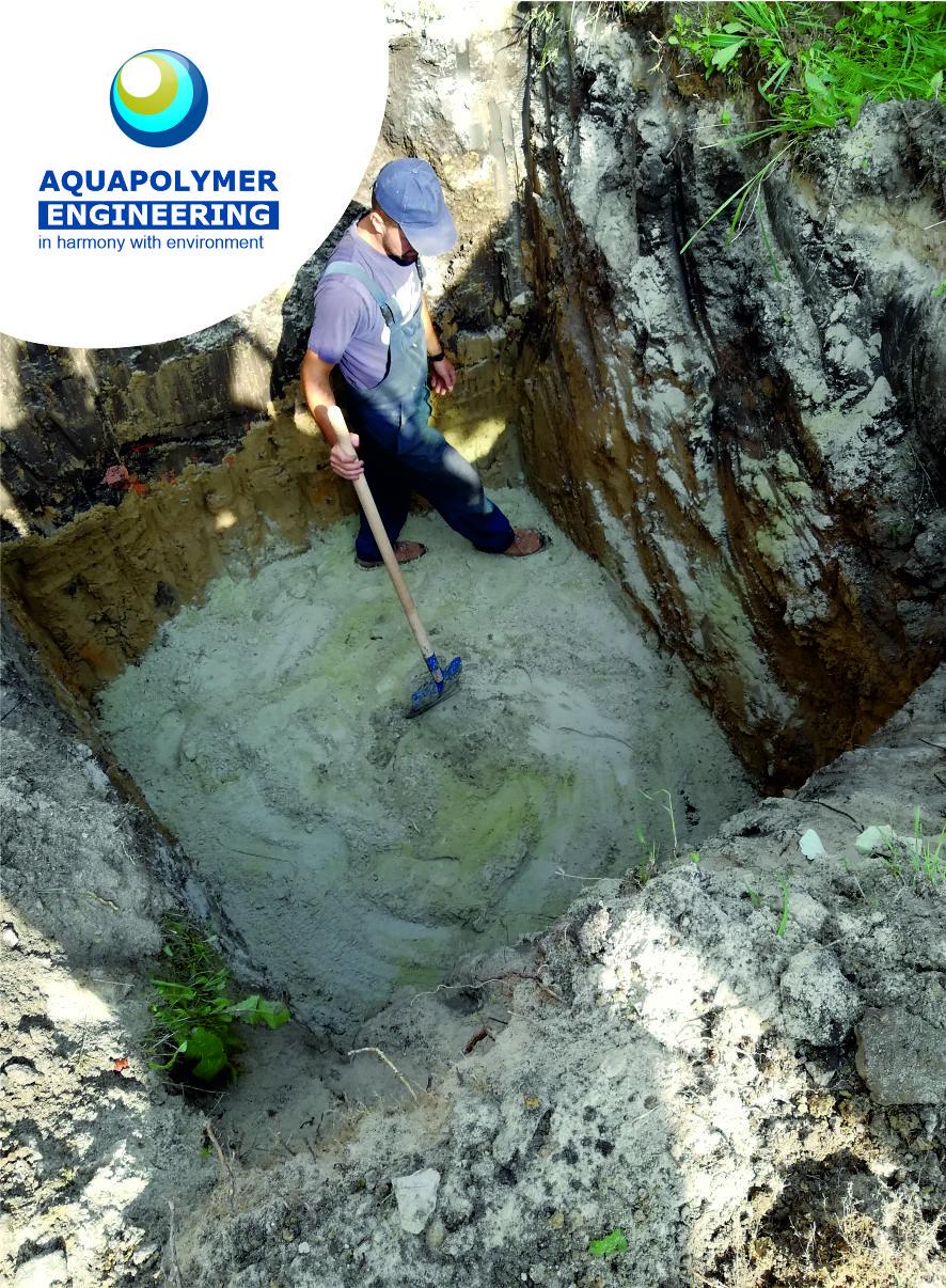 przygotowanie do instalacji lokalnej kanalizacji