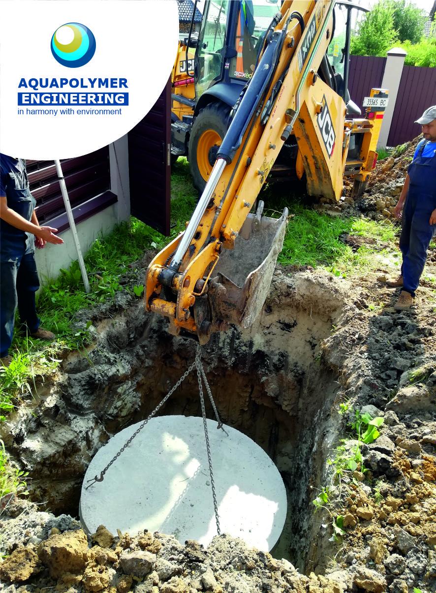 installation of a concrete bottom