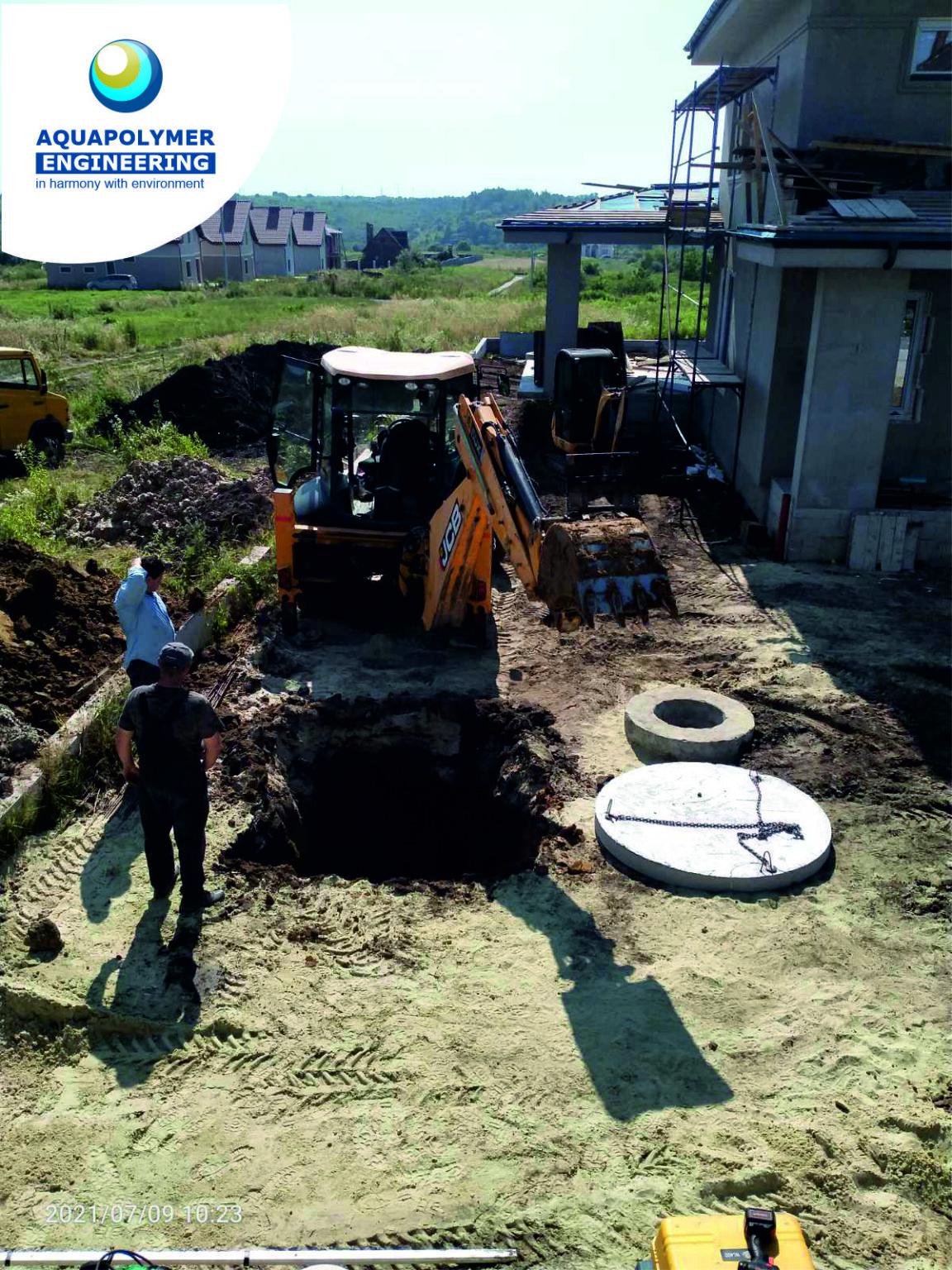 instalacja lokalnej kanalizacji