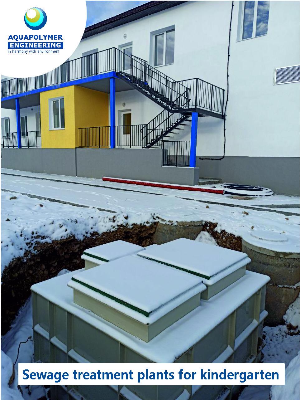 MakBoxPro 8 treatment plant for kindergarten