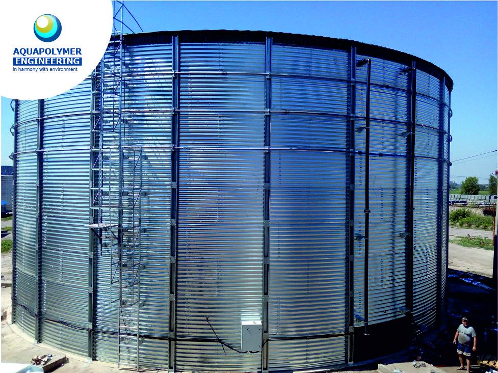 Tank for storage of liquid mineral fertilizers (UAN)