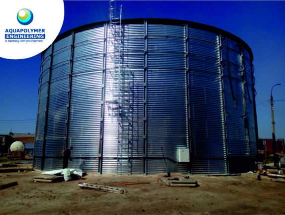 Tank for storage of UAN