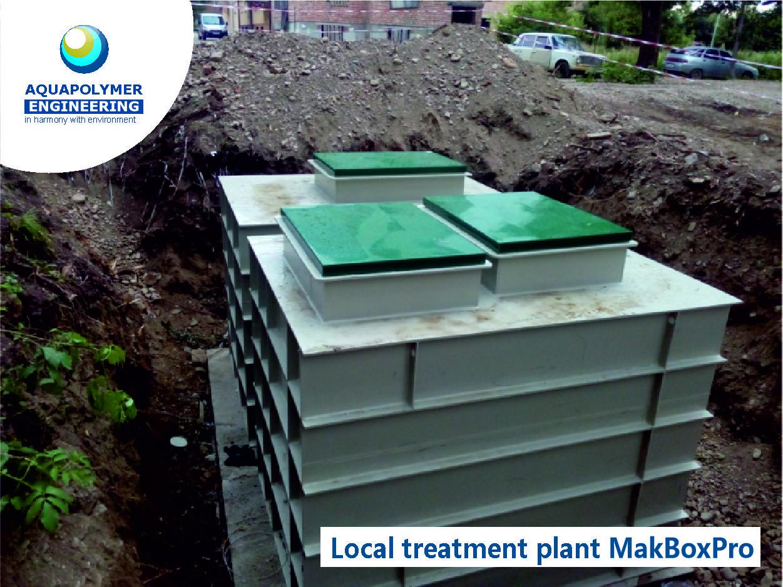 local treatment plant
